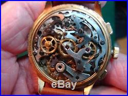 1940s WRISTWATCH ANGELUS CHRONODATO CHRONOGRAPH FOR PARTS OR REPAIR