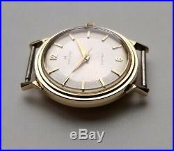 1960s Vintage Men's HAMILTON Electric Summit Watch 14K Solid Gold Repair/Parts
