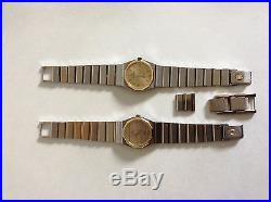 2 Concord Mariner SG Stainless Watches for Parts or repair