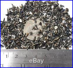 3 Grams (100-250 Pcs) Vintage Mixed Pocket Watch Screws Parts/repairs