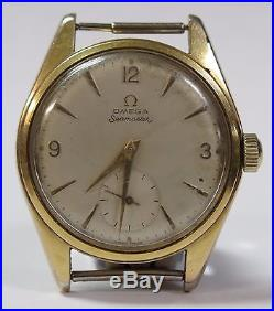 36mm 1957 Omega Seamaster 267 Mens Vintage Watch For Parts or Repair