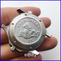 40mm watch repair parts sea master style watch case kit fit eta 2824 movement
