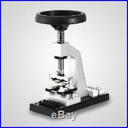5700# Bench Watch Opener Case Back Press & Parts Watchmaker's Repair Tool