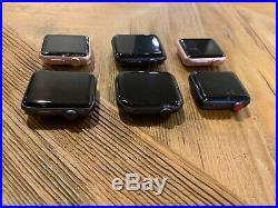 6x BULK Apple Watch 44mm 42mm 38mm Aluminum Series 4 3 2 1 FOR PARTS / REPAIR