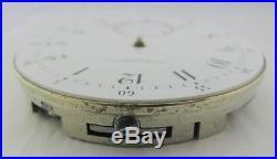 Antique 42.3mm High Grade 1889 PATEK PHILIPPE Pocket Watch Movement Dial REPAIR