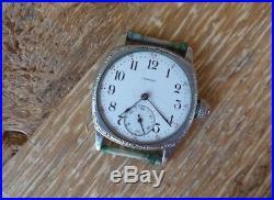 Antique Illinois Springfield Men's Wristwatch 11 Jewels #2062027- Parts/repair