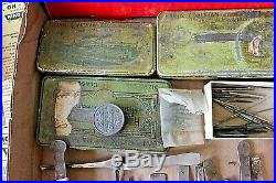 Antique / Vintage Lot of Watchmaker / Watch Repair Tools and Parts