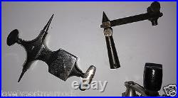Antique lathe watchmaker jeweller repair tools parts pivot jacot attachments