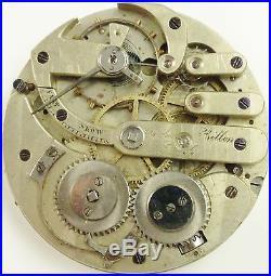 Arnold Billon Pocket Watch Movement High Grade Swiss Spare Parts / Repair