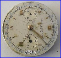 Baume & Mercier Chronograph Landeron Movement Baume & Mercier Dial Repair Parts