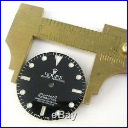 Black Dial Fits Rolex Submariner 5513 Watch Dial Repair Part