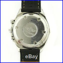 Breitling Callisto B11045 Chrono White Dial 2-tone Bezel S. S. Watch Parts/repair