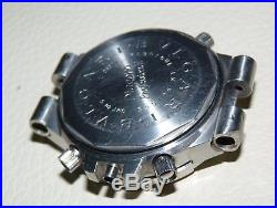 Bvlgari Diagono Gmt40s Automatic Mens Watch Steel For Parts Repair Project