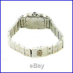 Cartier Santos 1057930 White Dial Quartz 18k Gold+s. S. Ladies Parts/repairs