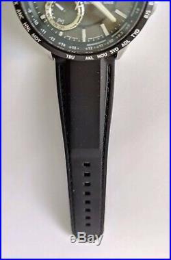 Citizen Satellite Wave World Time GPS Eco-Drive CC3005-00E F150 For Parts/Repair