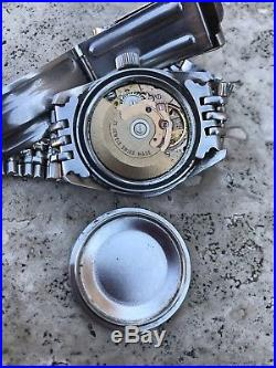 Diver Monvis Automatic Not Working For Parts Bakelite Besel Vintage Repair