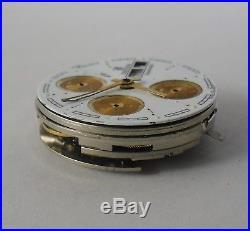 ETA 7750 (Valjoux 7750) Movement Good Balance Parts or Repair / Festina Chrono