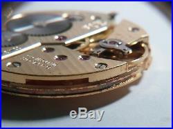 ETA UTE UNITAS 6498 MOVEMENT MECHANICAL Swiss, Baylor for parts/repair YELLOW