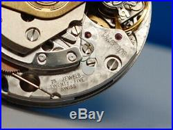 ETA VALJOUX Omega 7750 Automatic Chronograph Movement PARTS / REPAIR