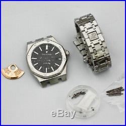 Eta 2824 watch case kit watch repair parts for ap watch 316 steel band
