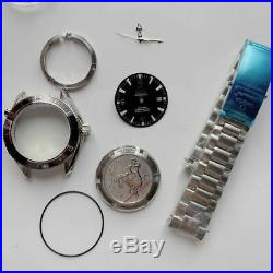 FIT eta 2824 movement watch case kit set repair SERVICE parts for 1948 seamaster
