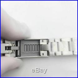 Fit 3135 movement 904L case kit watch repair parts for fix submariner nob v9