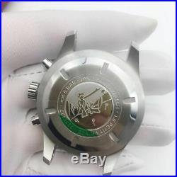 Fit 7750 movement chronograph case kit big pilot style watch repair parts fix