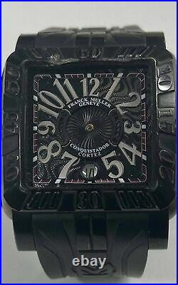 Franck Muller Conquistador Cortez No. 077 Mens Watch For Parts Or Repairs