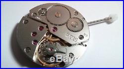 Genuine Swiss Made ETA Unitas 6497-1 movement and stem for repair works