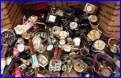 HUGE Vintage to Modern Junk Watch Lot for Wear / Repair or Parts Over 14 lbs