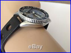 Handsome Mens Seiko 7c43-6010 Divers Watch For Parts Or Repair