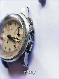 Harman Chronograph Valjoux 23 Old Watch for parts or repair