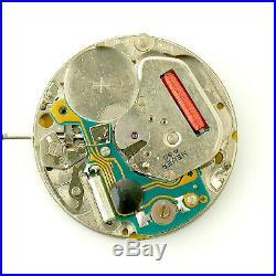 Heuer Professional Quartz 200m Black Dial For Parts Or Repairs