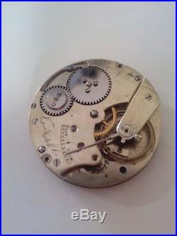 IWC International Watch Co movement Taschenuhrwerk Repairing Spare Part pocket