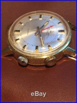 Jaquet Droz Wrist Alarm Mens Watch For Parts Or Repair ...