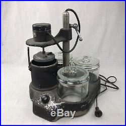 L & R Watch Cleaning Machine Heavy Duty Model With 3 Jars For Parts or Repair