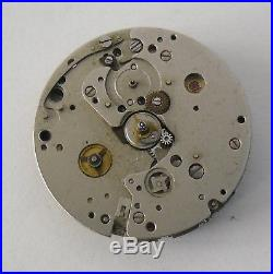 Lemania 1341 Movement (Tissot Navigator 2170) Good Balance Parts or Repair
