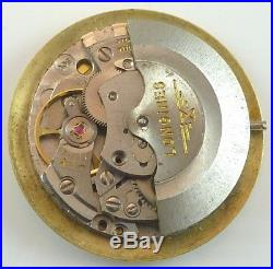 Longines Running Wristwatch Movement Cal. 505 Automatic Spare Parts Repair