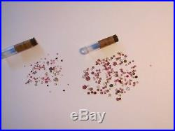 Lot Antique Vtg Watch, Pocket W NOS Ruby Rubis Jewels Watchmakers Repair Parts