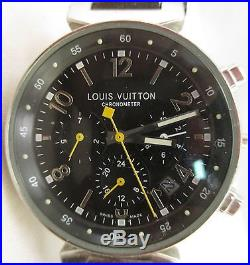 Louis Vuitton Chronometer Watch Swiss Made Parts or Repair Working