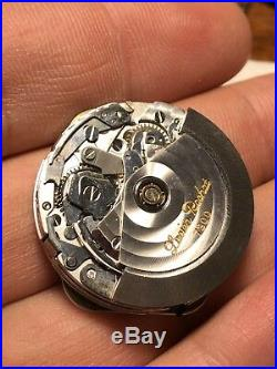 Lucien Rochat 7300 Movement Chronograph Valjoux 7750 Working For Parts Repair
