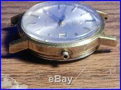 Men's Vintage OMEGA Geneve, 20micron, 17j, cal. 1480, date, RUNNING, Parts or Repair