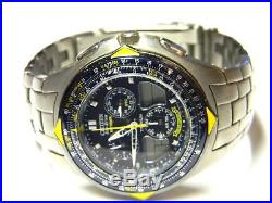 Mens Citizen Skyhawk Eco Drive Blue Angels titanium watch C651 parts repair