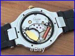 Must De Cartier 21 Ladies Quartz Wristwatch For Parts or Repair