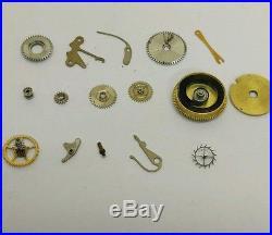 Nos longines original watch parts caliber 12.68n spares pack rare vintage repair
