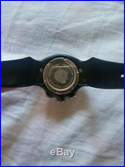 Oakley Detonator Black With Red Dial Watch Repair/parts