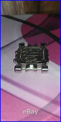 Oakley Minute Machine Titanium Watch/Black Face. For parts or repair