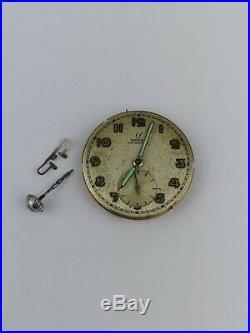 Omega Cal 342 Bumper Watch Movement 1947 For Parts or Repair (BK7)