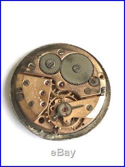 Omega Movement Triple Calendar (caliber 381) For Parts Or Repair (as Is) Cosmic