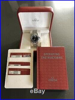 Omega Seamaster GMT 2004 Watch Parts SPARES OR REPAIRS